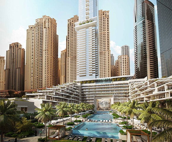 Corinthia Group - International Hotel Investments -  Corinthia Hotel and Residence Meydan Beach Dubai banner