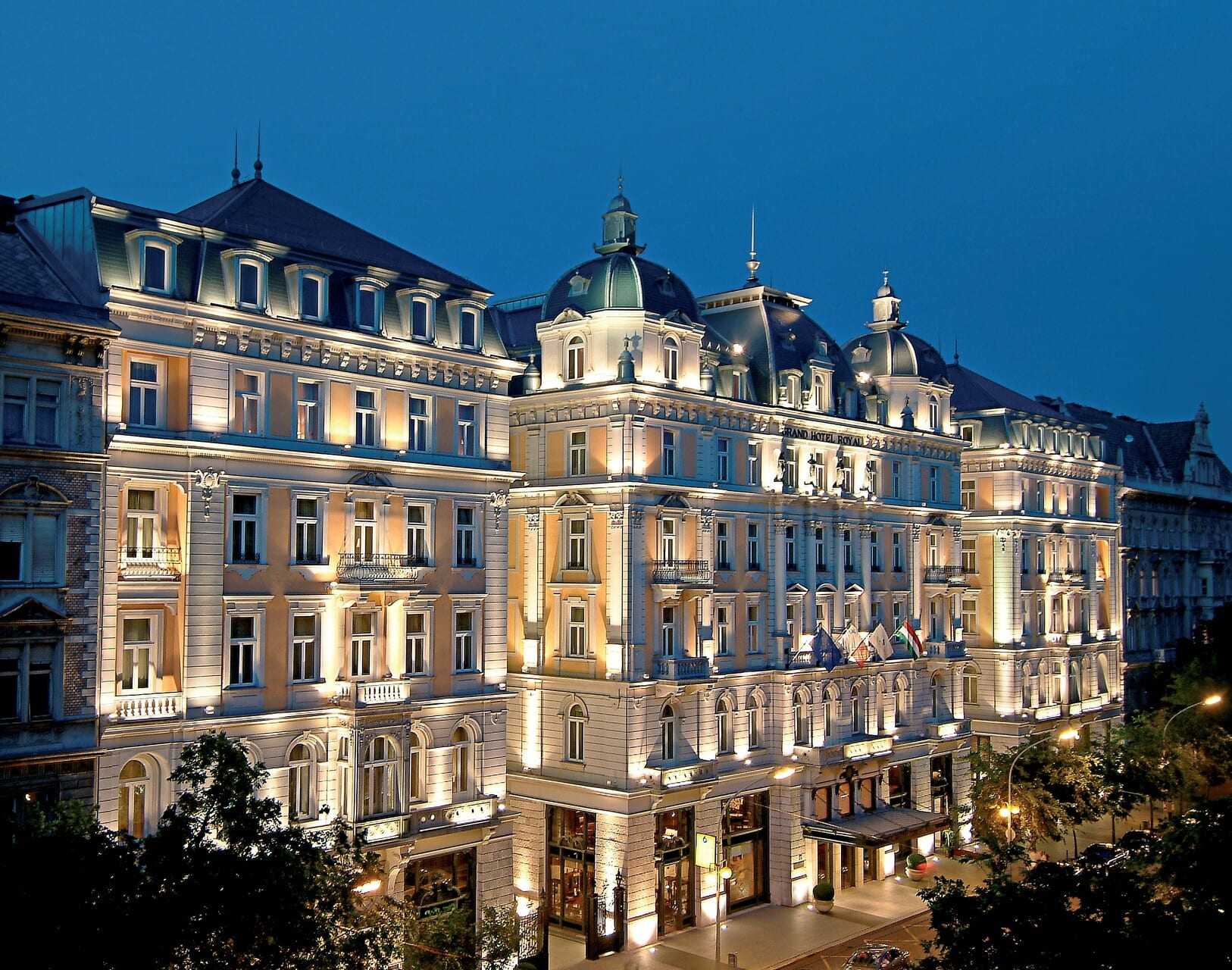 Corinthia Group - International Hotel Investments -  Corinthia Budapest banner